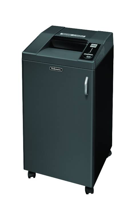 Iratmegsemmisítő, konfetti, 8-10 lap, FELLOWES Fortishred 3250SMC -